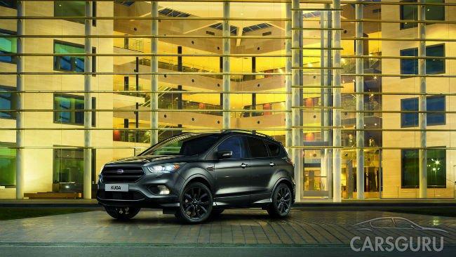 Ford предложил кроссовер Kuga в исполнении ST-Line