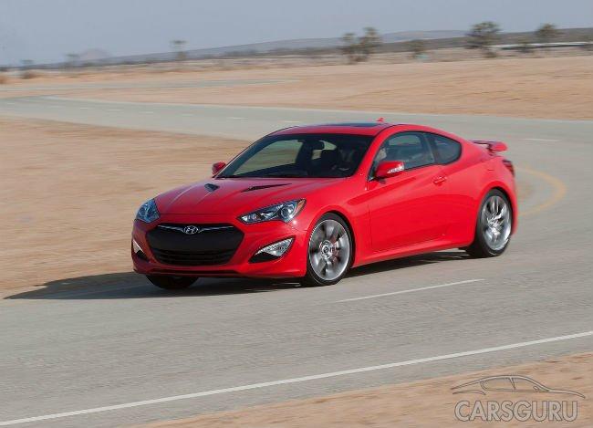 Hyundai прекратит серийный выпуск модели Genesis в кузове купе