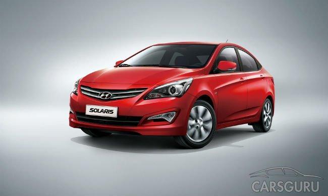 Лидером рынка новых авто России в июле стал Hyundai Solaris