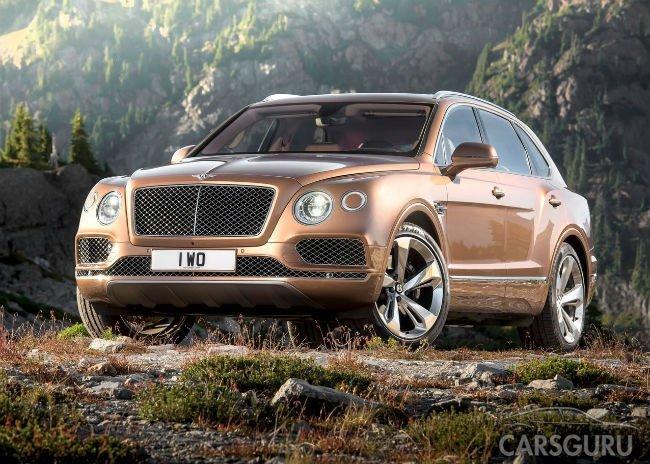 Российские продажи Bentley выросли в полтора раза
