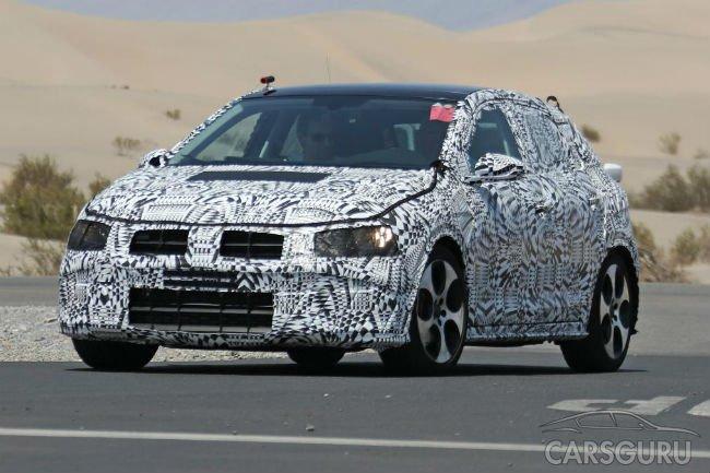 Volkswagen тестирует новое поколение Polo