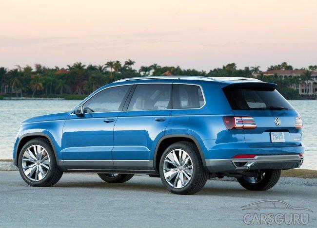 Новый кроссовер от Volkswagen получит 7 мест и название Teramont