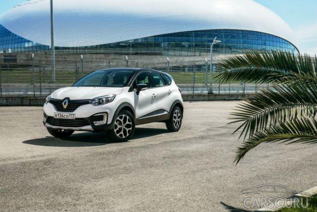 В Renault отмечают взрывной рост продаж кроссовера Kaptur