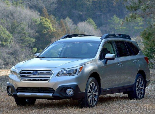 Продажи Subaru в России опустились почти на треть