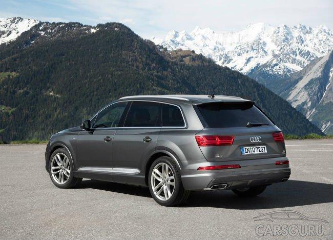 Audi отзывает 14,5 тысячи внедорожников Q7