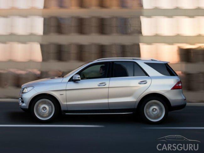 В России отзывают немного кроссоверов Mercedes