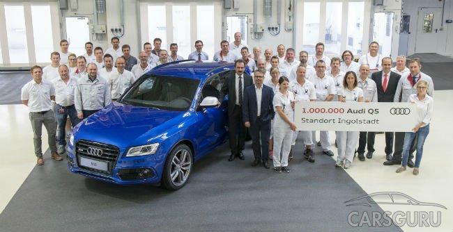 В Германии выпустили юбилейный кроссовер Audi Q5
