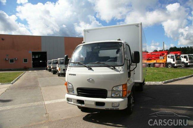 Малые грузовики Hyundai HD35 начали выпускать в России
