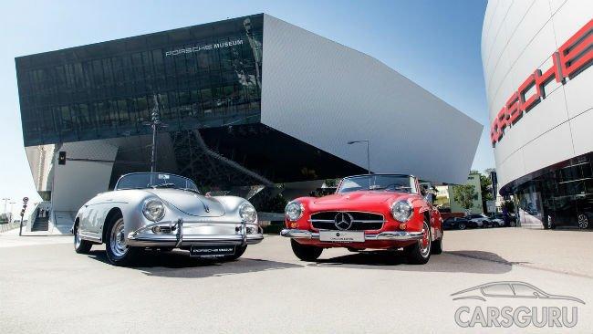 Mercedes и Porsche объявили о «музейном» сотрудничестве