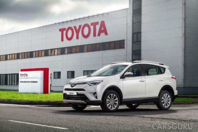 Toyota начала выпуск RAV4 в России