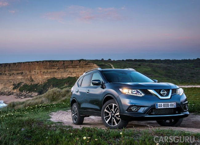 Самым продаваемым кроссовером в Москве стал Nissan X-Trail