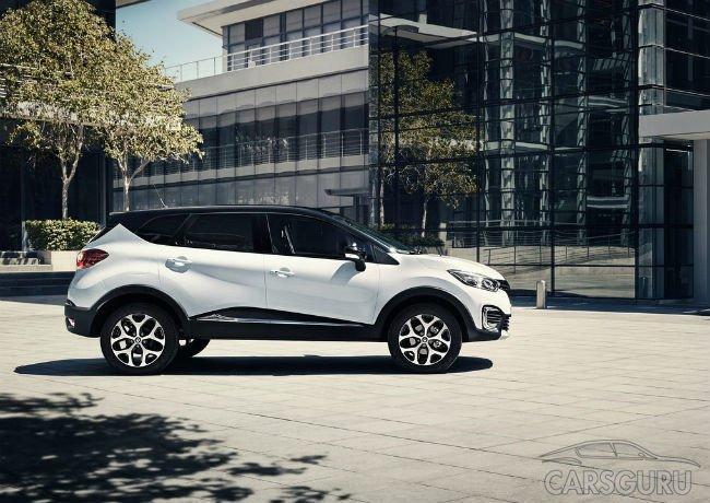 Renault начала прием заказов на Kaptur с новой трансмиссией