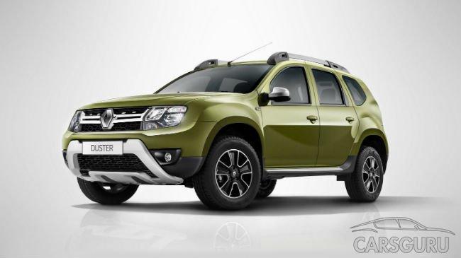 Топ-10 кроссоверов в России возглавил Renault Duster