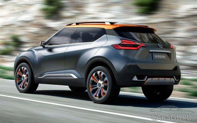 Nissan Juke выйдет на новой платформе и с новыми моторами