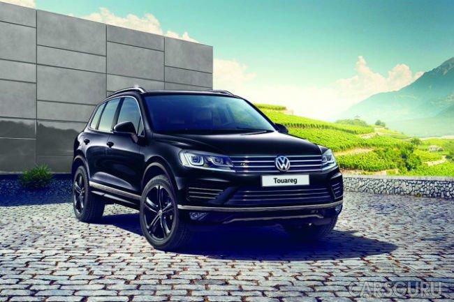 В России предложат ограниченную серию Volkswagen Touareg