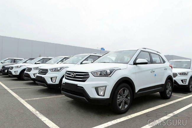 Стартовало серийное производство Hyundai Creta