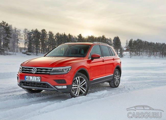 Тестовая сборка нового VW Tiguan стартовала в Калуге
