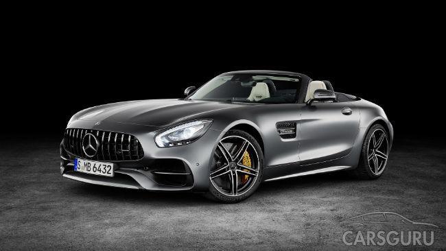 Mercedes-AMG GT Roadster представлен в преддверии парижского дебюта