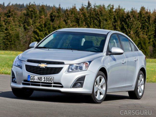 В России отзывают больше трех тысяч Chevrolet двух моделей