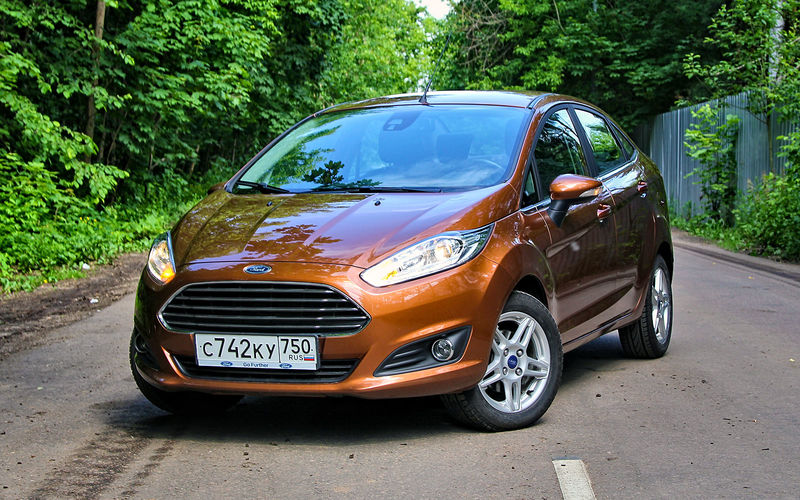 Ford Fiesta изпарка ЗР: богатый внутренний мир