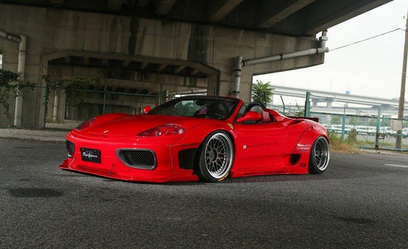 Ferrari F360 Modena в исполнении Liberty Walk