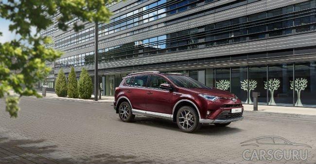 Toyota начинает продавать новую серию RAV4 и приглашает на тест-драйв