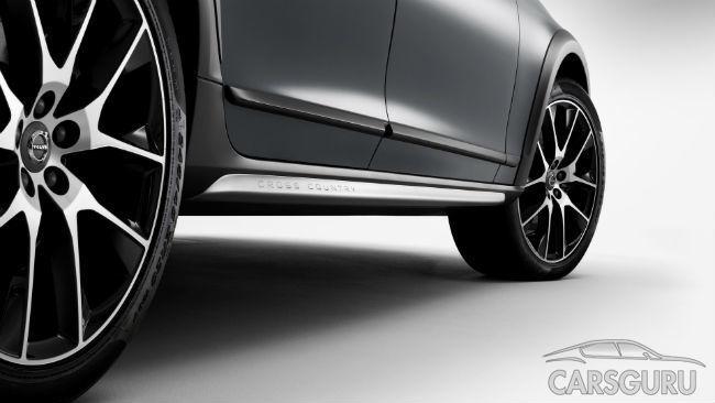 Volvo показала, как будет выглядеть модель V90 Cross Country
