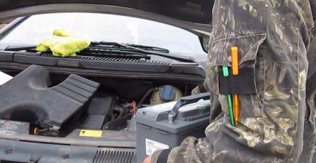 Замена аккумулятора на автомобиле