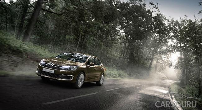 Citroen назвал российские цены на новый седан C4