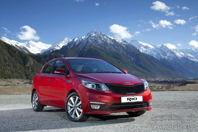 На российском рынке предложена ограниченная серия Kia Rio — Premium 500