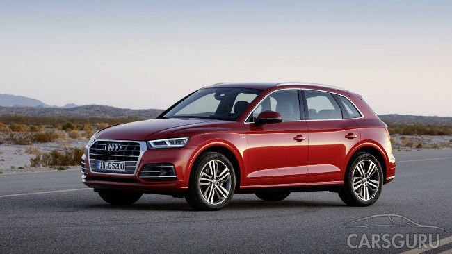 Audi представила на салоне в Париже новое поколение кроссовера Q5