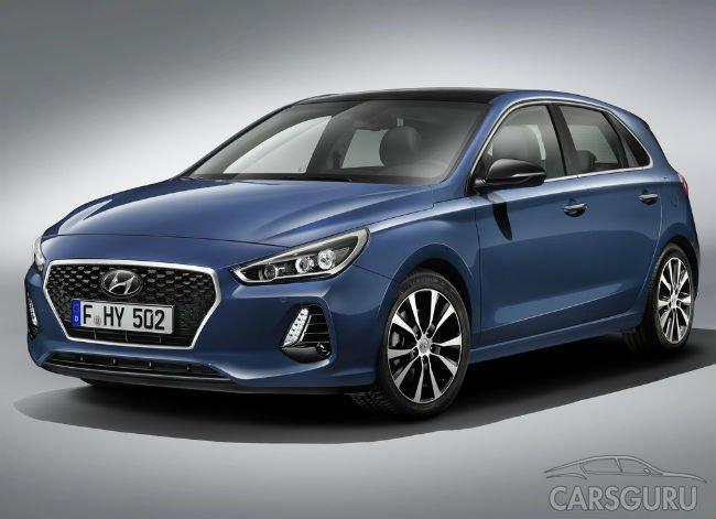 Hyundai официально показал новый вариант хетчбэка i30