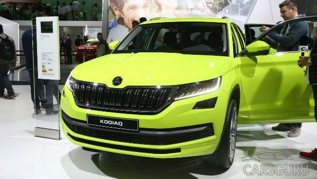 Skoda представила в Париже свой первый кроссовер Kodiaq