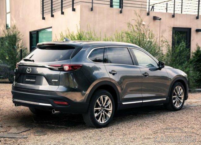 Mazda раскрыла некоторые данные о CX-9 нового поколения