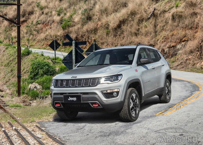 Продажи нового Jeep Compass стартуют в Бразилии