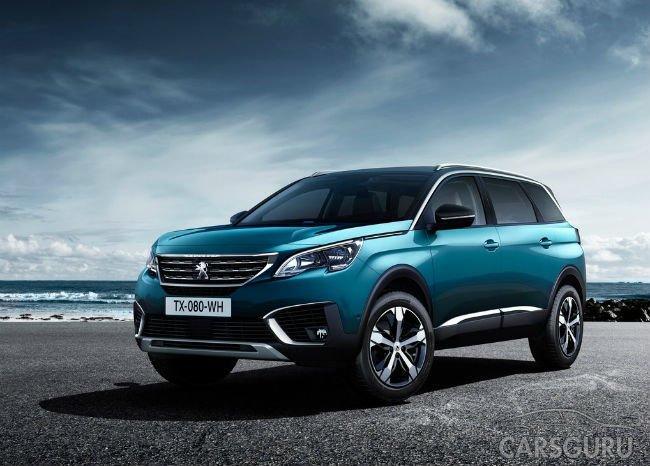 Peugeot превратила модель 5008 в семиместный внедорожник