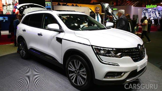 Renault показала в Париже совершенно новый Koleos