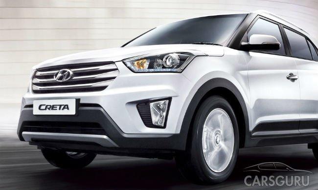 Лидером рынка SUV в России в августе стал новый Hyundai Creta