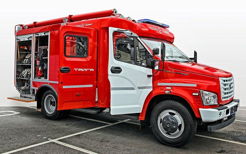 ГАЗон Next АЦ‑1,0–40/4: навсякий пожарный