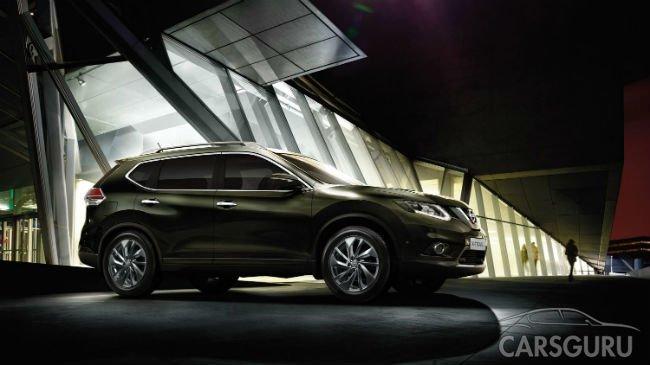 Nissan X-Trail стал самым популярным кроссовером Москвы в июле