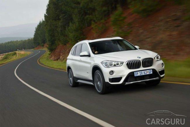 BMW назвала цены на кроссовер Х1 российской сборки