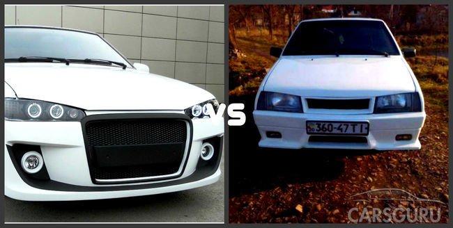 Сравнение ВАЗ 2114 и ВАЗ 2109