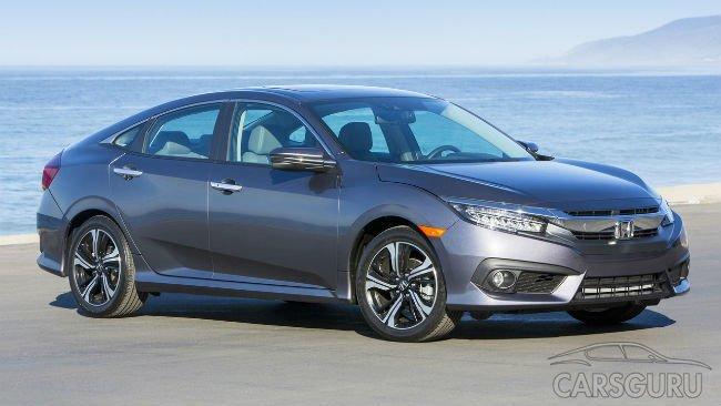 Honda отзывает 350 000 новых Civic в США