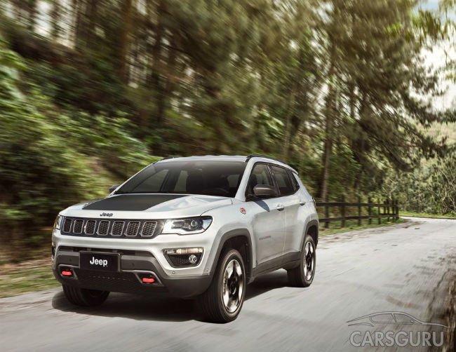 Новый Jeep Compass появится в России в будущем году