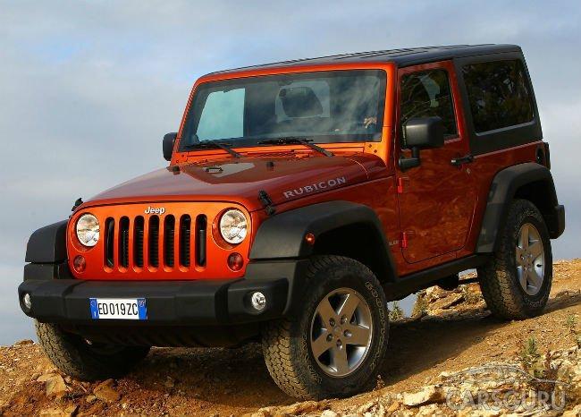 Fiat Chrysler отзывает 224 тысячи Jeep Wrangler