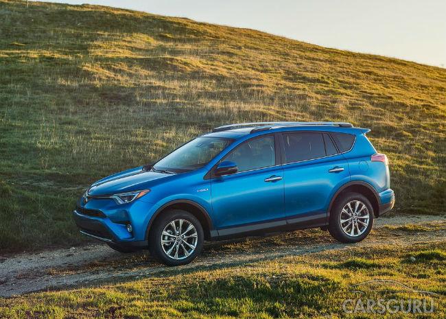 Toyota RAV4 бросает вызов Honda CR-V по продажам в США