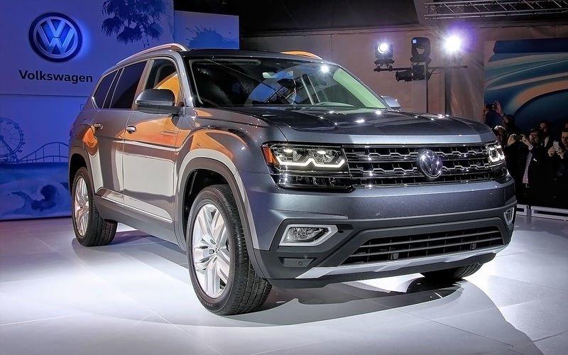 Оператив ЗР: Volkswagen Atlas— круче Туарега?!