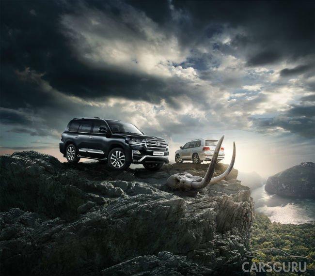 Toyota представляет эксклюзивную серию внедорожника Land Cruiser 200 – Executive Black и Executive White