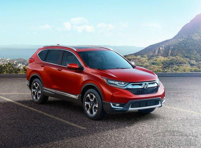 Honda показала в США новый CR-V