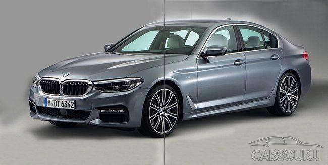 Опубликованы первые фото новой BMW 5-Series